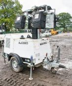 SMC TL-90 diesel driven mobile lighting tower Year: 2014 S/N: 1411089 Recorded Hours: 4689