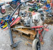 Camon 2000 petrol driven rotovator ** For spares **