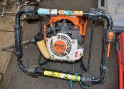 Stihl BT121 petrol driven post hole borer ** Parts missing **