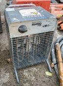 Rhino 110v fan heater