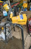 REMS CENTRO 845 110 volt pipe saw Complete with stand and foot pedal
