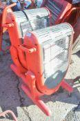 2 - Elite 110v infrared heaters