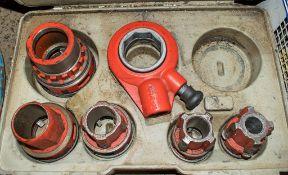 Ridgid pipe threading kit