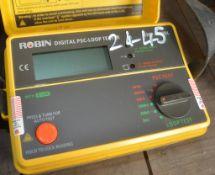 ROBIN digital PSC-loop tester