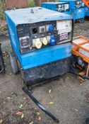 Stephill SSD6000S 6 kva diesel driven generator Recorded Hours: 1563 ** Ignition barrel missing **