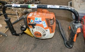 Stihl BT121 petrol driven post hole borer