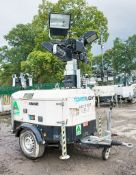 Tower Light VB-9 diesel driven mobile lighting tower Year: 2013 S/N: 1302900 Recorded Hours: 2746