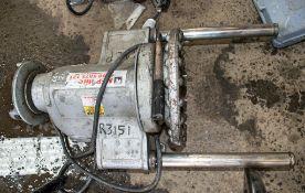 RIDGID 300 110 volt pipe threading machine *Cord cut*