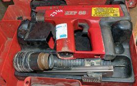 Hilti EXP 88 nail gun for spares c/w carry case