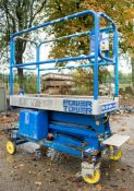 Power Tower push along battery electric scissor lift Year: 2008 08PT0031