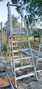 Youngman 6 tread aluminium step ladder