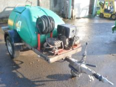 Western fast tow diesel driven pressure washer bowser A682306