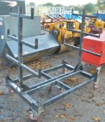 Mobile collapsible pipe rack