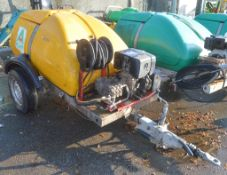 Western fast tow diesel driven pressure washer bowser S/N: 70120