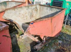 Steel tipping skip A648456