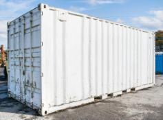 20 ft x 8 ft steel shipping container BB34477