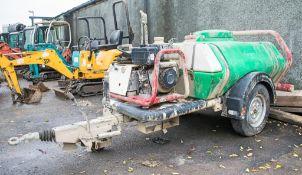 Brendon diesel driven mobile pressure washer bowser A621798