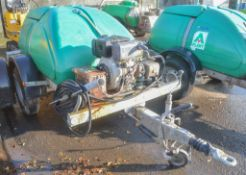 Western fast tow diesel driven pressure washer bowser A692474