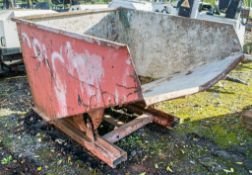 Steel tipping skip A594984