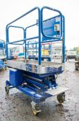 Power Tower push along battery electric scissor lift Year: 2007 08PT0007