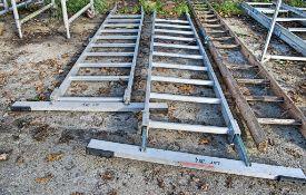 2 - aluminium roofing ladders
