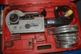 Rothenberger Robend 3000 110v pipe bending kit c/w carry case