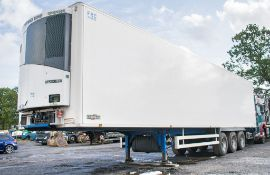 Chereau Inogam P1305 13.6 metre tri-axle refrigerated box trailer Year: 2016 Registration Number: