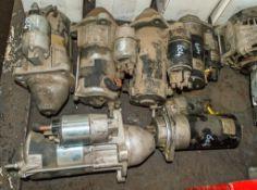 6 - various starter motors