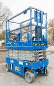 Genie GS1932 6 metre battery electric scissor lift access platform Year: 2004 S/N: 67873 Recorded