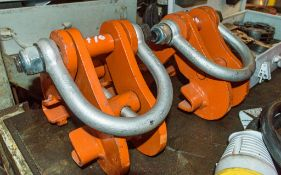 2 - girder clamps