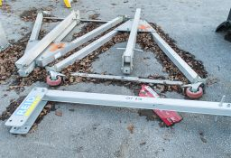 Reid aluminium lifting gantry ** No cross beam **