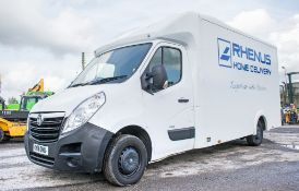 Vauxhall Movano F3500 Maxi-Low box van Registration Number: KY18 OMU Date of Registration: March