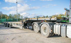 MAC Trailers 13.6 metre step frame tri axle low loader trailer