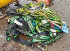 Quantity of personnel safety harnesses & lanyards