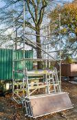 Boss aluminium scaffold tower as photographed