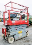Skyjack SJ 3219 6 metre battery electric scissor lift access platform S/N: 22011960 HYP002