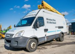 Iveco Daily 65C18 4x2 van derived Versalift EST46NF articulated mobile access platform