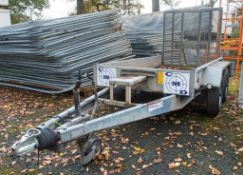 Indespension 8 ft x 4 ft tandem axle plant trailer S/N: 101067