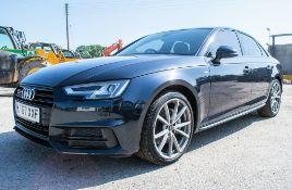Audi A4 S-Line TDI Quattro 4 door saloon car Registration Number: LT67 XXF Date of Registration: