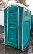 Plastic portable site toilet