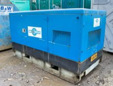 Pramac 60kva Diesel driven generator Recorded hours: 20,493