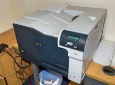 HP laserjet CP5225 colour printer