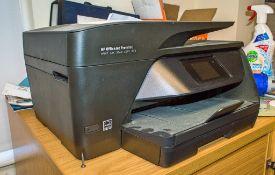 HP Office Jet Pro 6960 printer/scanner/fax machine