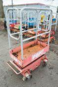 Pop Up push along battery electric access platform 08FT-0243