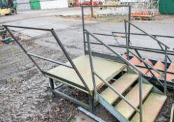 Steel stair case & gantry