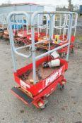 Pop Up push along battery electric access platform 08FT-0077