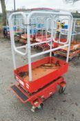 Pop Up push along battery electric access platform 08FT-0229