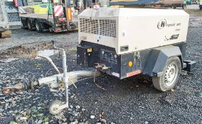 Ingersoll Rand 726E diesel driven mobile air compressor / generator Year: 2011 S/N: 108979 Recorded