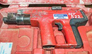 EXP88 nail gun c/w carry case