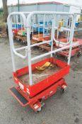 Pop Up push along battery electric access platform 08FT-0085